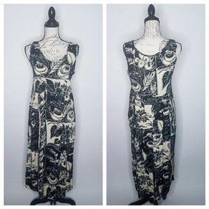 JAMS WORLD Sleeveless Maxi Dress Floral Medium